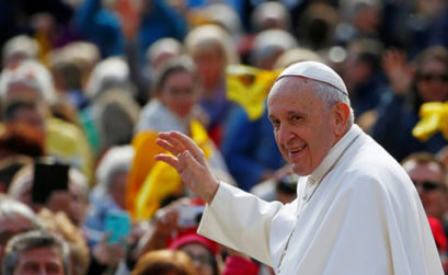 As divisões do papa