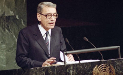 Boutros Boutros-Ghali and the cause of development