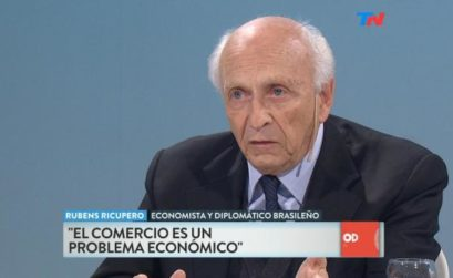 Rubens Ricupero no 'Odisea Argentina' da rede TN